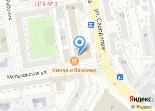 Компания «ISAEV ARCHITECTS» на карте