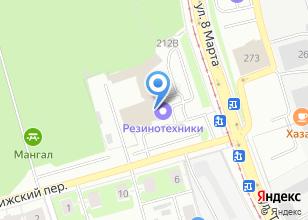 Компания «Сонет Текнолоджис Екатеринбург» на карте