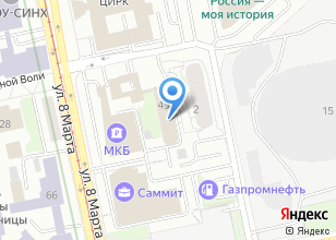 Компания «УРАЛ-ТРАНСФЕР» на карте