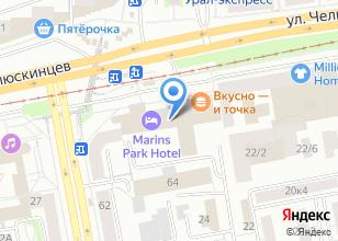 Компания «Урал-Авто» на карте