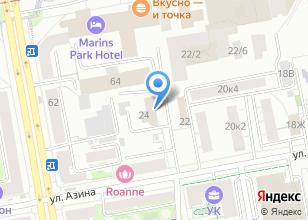 Компания «Альтинг» на карте