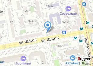 Компания «Ероза» на карте