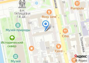 Компания «Дорос» на карте
