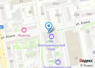 Компания «ИнтерьерСтройПлюс» на карте