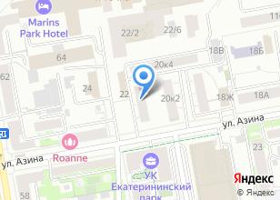 Компания «Тур-Урал» на карте