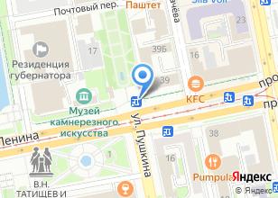 Компания «Монетный Лесозавод» на карте