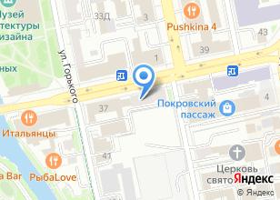 Компания «Лаберту» на карте