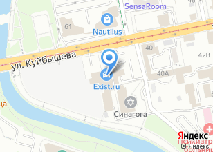 Компания «Ваш Курьер» на карте