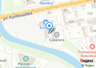 Компания «Регион» на карте