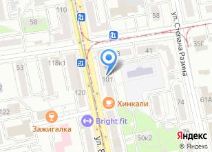 Компания «Iris Burbonov» на карте