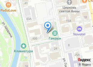 Компания «Кандинский» на карте
