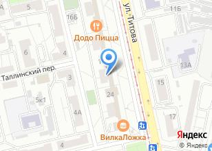 Компания «СтройСМ» на карте