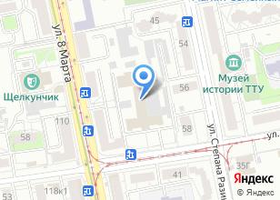 Компания «ИНГРАС» на карте