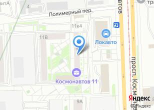 Компания «Синергия» на карте