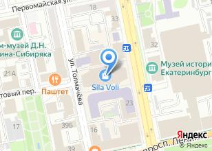 Компания «Moda» на карте