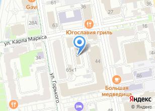 Компания «Инари» на карте