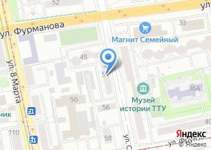 Компания «АЛНИКС» на карте