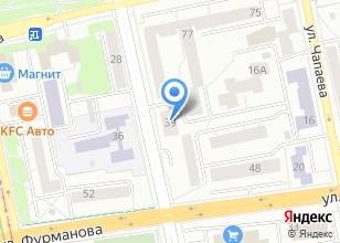 Компания «Уральская монтажно-строительная компания» на карте