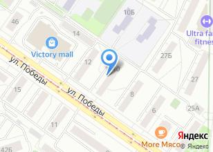 Компания «Товары для всех» на карте