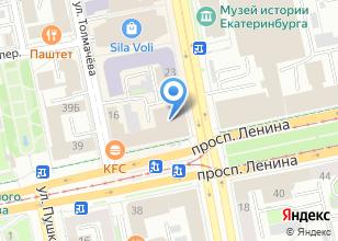 Компания «МБА-Тур» на карте