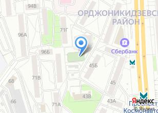 Компания «Строящийся жилой дом по ул. Космонавтов проспект» на карте