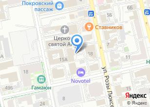 Компания «ТрансОтель» на карте