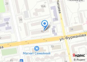 Компания «Ориентир. Недвижимость» на карте