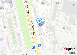 Компания «АвтоЭксперт» на карте