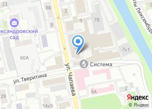 Компания «Комплект ЛИГА» на карте