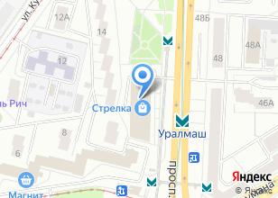 Компания «Строящееся административное здание по ул. Кузнецова» на карте