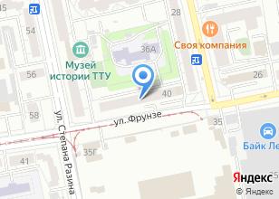 Компания «Смородина» на карте
