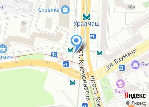 Компания «Станция Уралмаш» на карте
