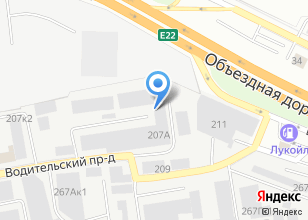 Компания «Виктори» на карте