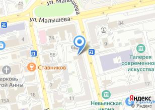 Компания «Моя новая квартира» на карте