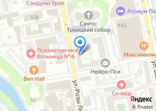 Компания «АМБ» на карте
