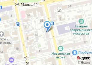 Компания «Элит-Окно» на карте