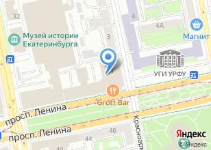 Компания «Сократ» на карте