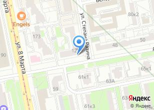 Компания «Метрика-Екатеринбург» на карте