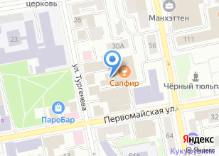 Компания «Велар» на карте