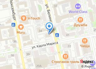 Компания «Prokat-ekb» на карте