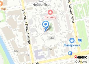 Компания «Амплитуда» на карте