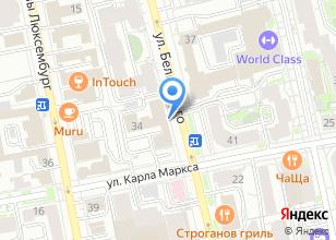 Компания «Исеть-Фонд» на карте