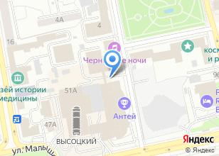Компания «УралЛист» на карте