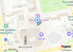 Компания «Балконский» на карте