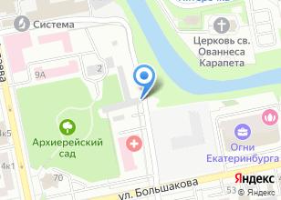 Компания «POWER FIT» на карте