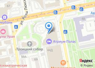 Компания «Benvenuti» на карте