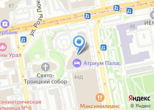 Компания «Крылья» на карте