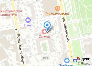 Компания «Инженерный центр исследования и проектирования» на карте