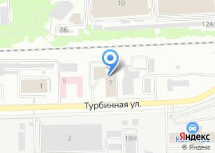 Компания «Уралсвет» на карте
