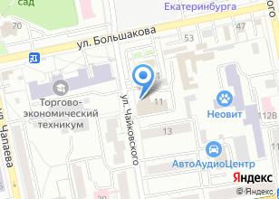 Компания «БассейныСауны96» на карте